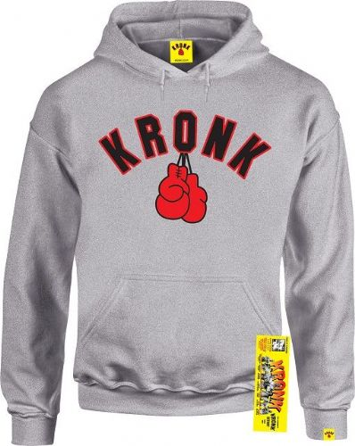 Kronk Boxing Gloves Hoody - Sport Grey